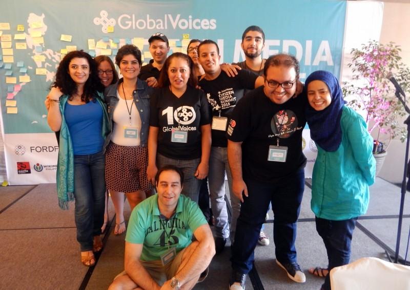 المشاركون العرب في مؤتمر الأصوات العالمية للعام 2015