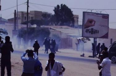 قمع الاحتجاجات - تصوير صفحة شباب التكتل على فيسبوك - مستخدمة بإذن