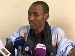صورة  للصحفي عبيد ولد إميجن من مدونة بوتلميت