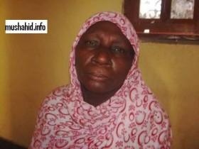 والدة  الطفلة المستعبدة وإسمها سالمه منت ميدوة ه الصورة كما نشرها موقع المشاهد .نت