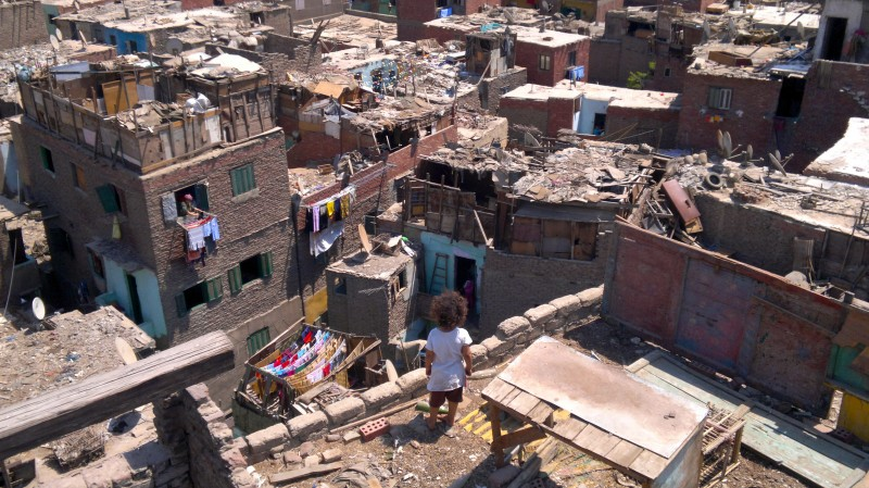 Ezbet Abu Qarn, one of Cairo's informal settlements. Photo by Manal ElShahat. (CC BY-NC-SA 2.0)
