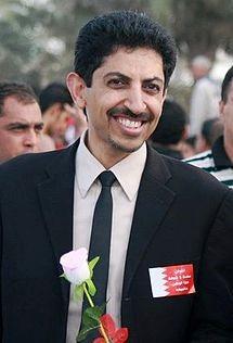 عبد الهادي يشترك في تظاهرة سلمية خلال شهر فبراير / شباط 2011