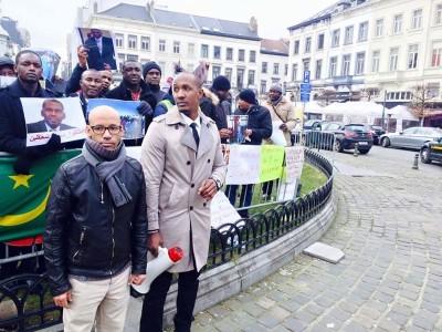وقفة في بلجيكا للتضامن مع نشطاء حركة إيرا