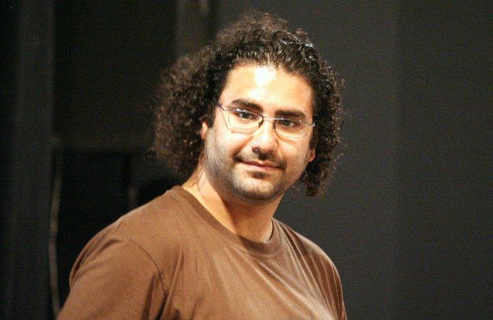علاء عبد الفتّاح. تصوير محمد الجوهري، تمّ استعمالها بإذن.
